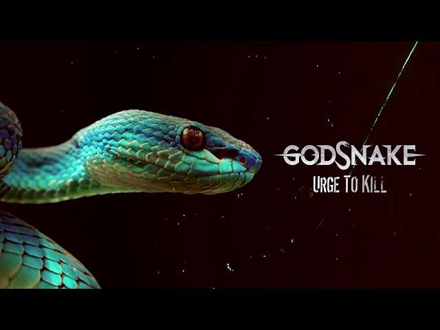 GODSNAKE - Urge To Kill (Lyric Video)