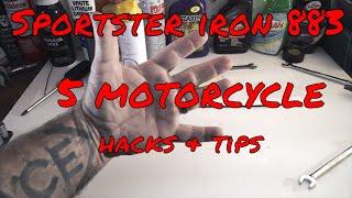 Sportster Iron 883 Motovlog #6-Hammer 1275 Conversion Q&A Pt 1