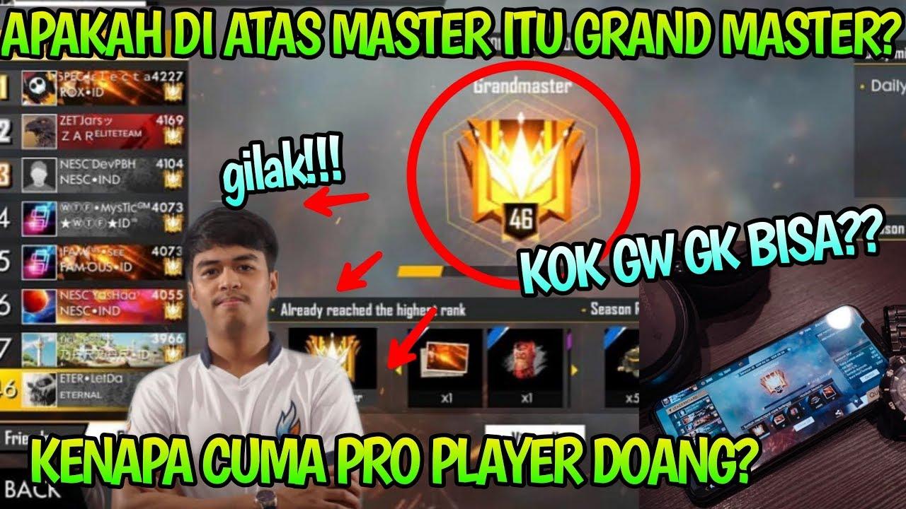 Grand Master Rank Tertinggi Pembahasan Rank Baru Grand Master Di Free Fire Youtube