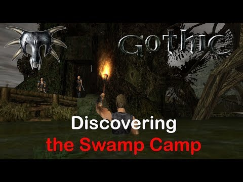 Gothic 1 - Discovering the Swamp Camp Ep. 3 (Let's play Gothic - 2018)