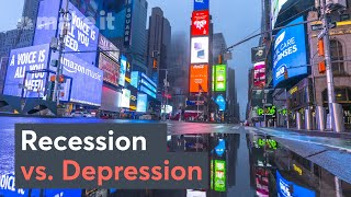 Recession Vs. Depression: What's The Difference?