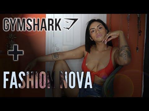 GYMSHARK + FASHION NOVA REVIEW !