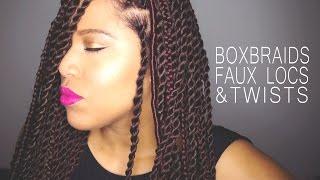 protective hairstyles 2016 box braids faux locs twists on natural hair samantha pollack