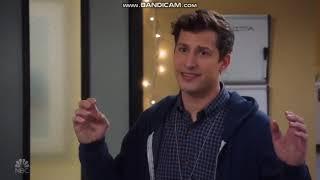 Jake, the Debate Genius tries to reason with the Bomber Pam|Brooklyn Nine Nine[06x12]