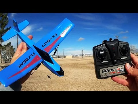 FX807 Flybear the World's Cheapest and Easiest RC Airplanes