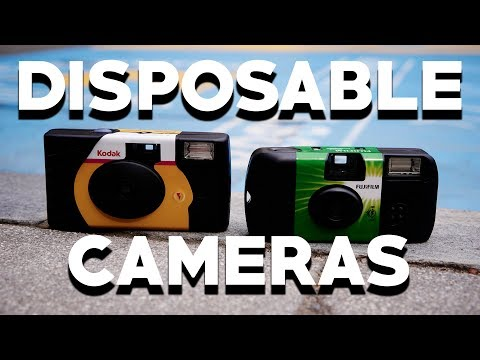 SHOOTING PORTRAITS WITH DISPOSABLE CAMERAS