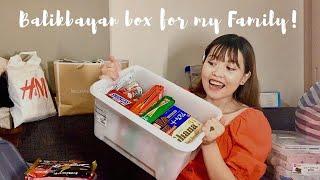 Packing my Balikbayan box from Japan🇯🇵