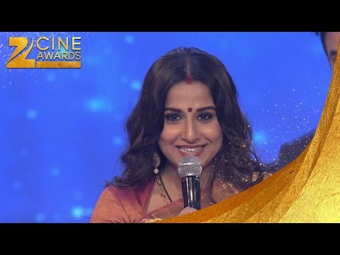 Zee Cine Awards 2013 Best Actor Female Jury Vidya Balan For Kahaani