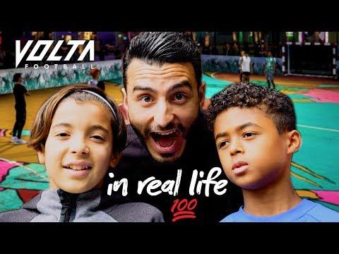Straatvoetballen Met Shane Kluivert \u0026 Rayane Bounida | TOUZANI TV #3