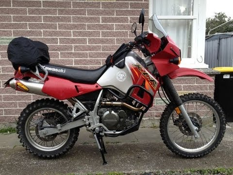 Klr 650 With Fmf Powercore Exhaust