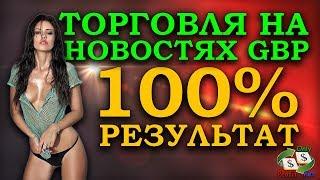 ТОРГОВЛЯ ПО НОВОСТЯМ GBP - 100% РЕЗУЛЬТАТ | БИНАРНЫЕ ОПЦИОНЫ | БРОКЕРЫ POCKET OPTION, BINOMO, FINMAX