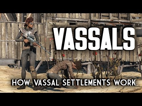 How Vassal Settlements Work - Nuka World Raider Outposts for Fallout 4