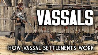 How Vassal Settlements Work - Nuka World Raider Outposts for Fallout 4
