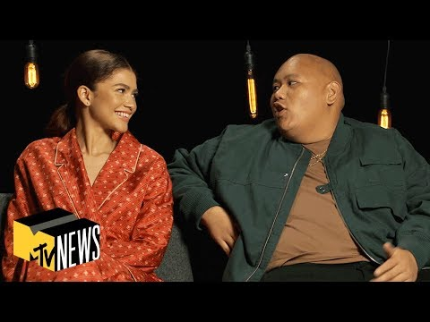 Zendaya & Jacob Batalon on 'Spider-Man: Far From Home' | MTV News