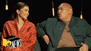 Zendaya & Jacob Batalon on 'Spider-Man: Far From Home' | MTV News