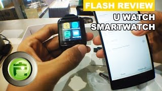 Smartwatch U Watch U8 untuk Android & iOS - Review Indonesia - Flash Gadget Store