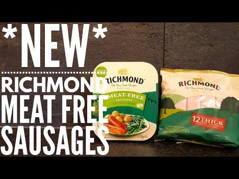 *NEW* Richmond Meat Free Sausages Vs Richmond Pork Sausages