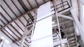 видео: Трехслойный экструдер для производства ПЭ пленок