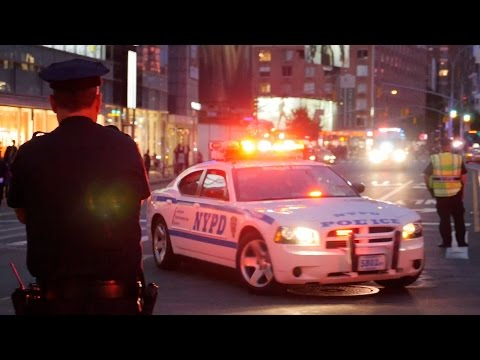 President Obama's Motorcade through NYC (9/24/14) [4K video]