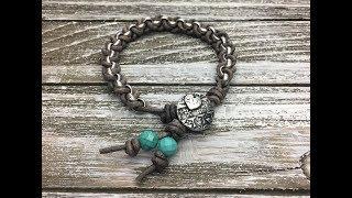 Wrap Bracelet Tutorial - Chain Lash Bracelet