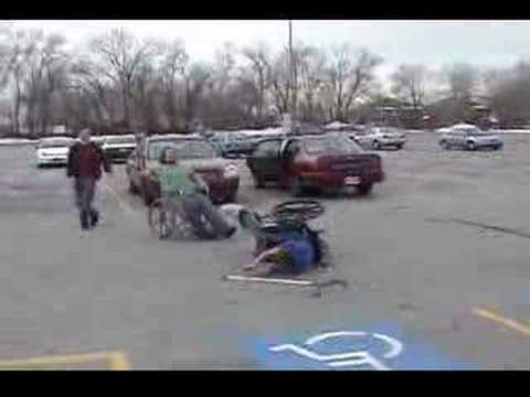 wheelchair jousting youtube