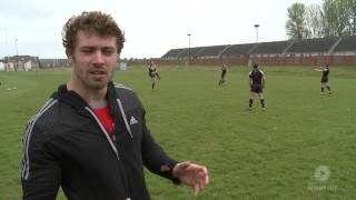 Leigh Halfpenny: Catching a High ball - trailer