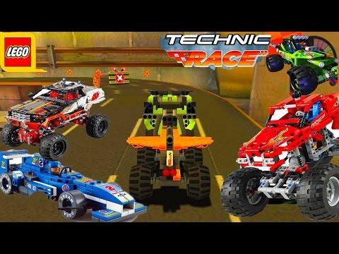 МУЛЬТИК ИГРА. Скоростные лего гонки#2 .TECHNIC RACE.THE CARTOON GAME. High-speed LEGO race.
