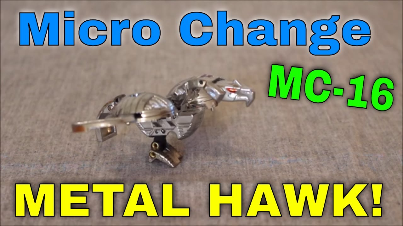 Its an..Egg?: Micro Change MC-16 Metal Hawk By GotBot
