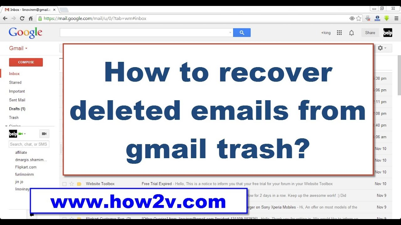 Can You Retrieve Emails That Have Been Deleted