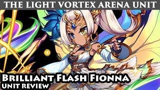 Brilliant Flash Fionna Omni Unit Review (Brave Frontier Global)「フィオナ」ユニットレビュー【ブレフロ】
