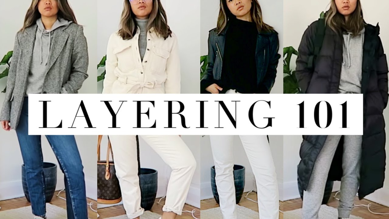 [VIDEO] - COLD WEATHER TRANSITIONAL OUTFITS + everlane haul 4