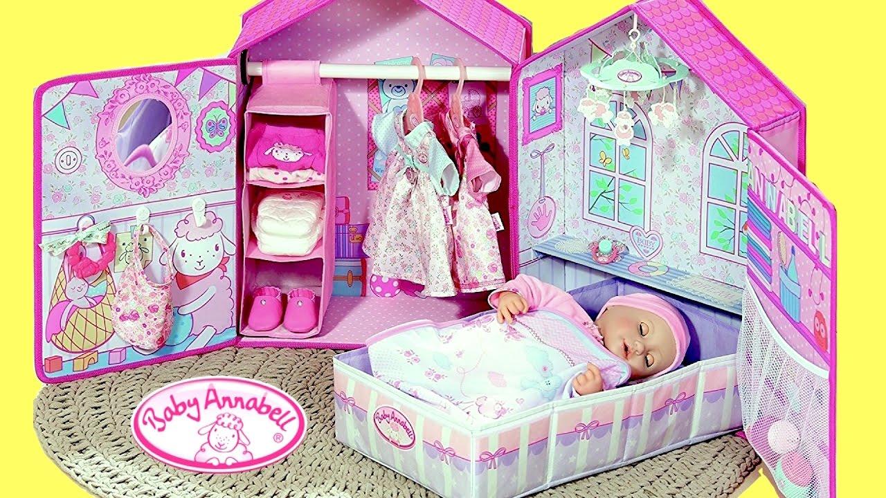 Baby Dolls Nursery Toys Baby Annabell Bedroom Wardrobe