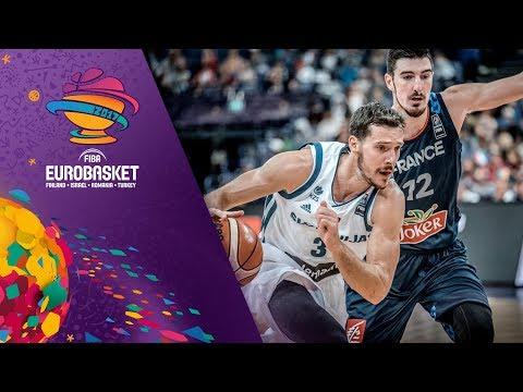 Slovenia v France - Full Game - FIBA EuroBasket 2017