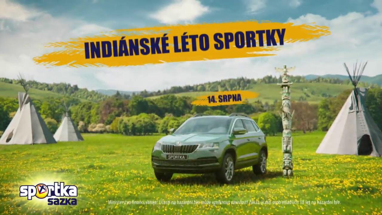 Indiánské léto se Sportkou pokračuje!