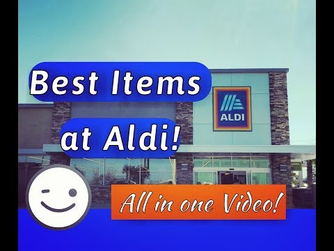 Aldi - My Favorite Products 2018 - Must Share! PHOTOS & PRICES