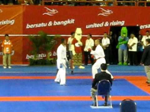 Karate Sea Games 2011 - Indonesia - Umar Syarief Final Travel Video