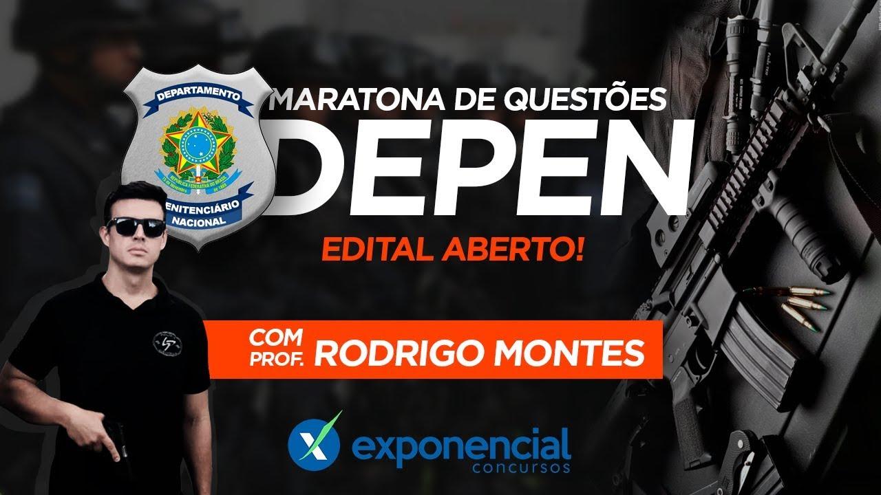 Concurso DEPEN | Maratona de Questões - Aula 06  Departamento Penitenciário