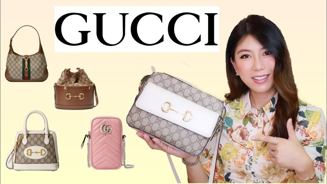 กระเป๋า GUCCI 5 รุ่นน่าซื้อปี 2021  Alice Chen