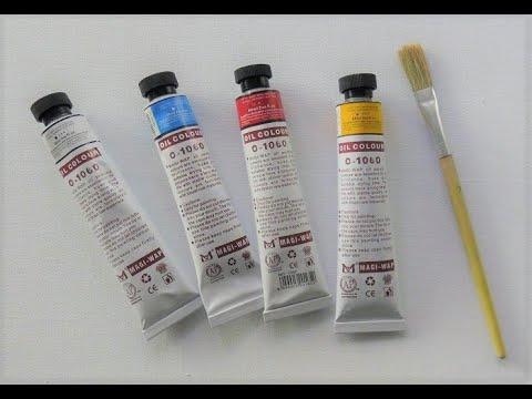 🔝 ХуДоЖнИкИ | Смешивание масляной краски | Палитра | Полезные советы Оттенки цвета | Вугар Мамедов