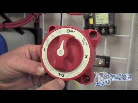 Blue Sea System Battery Switch ACR  Portland Marine