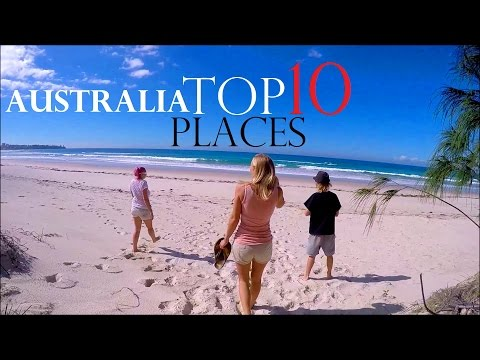 TOP 10 PLACES IN AUSTRALIA ☀ BEST TOURIST DESTINATIONS  🚸 BA