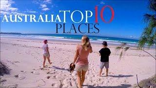 TOP 10 PLACES IN AUSTRALIA ☀ BEST TOURIST DESTINATIONS  🚸 BACKPACKING AUSTRALIA - Worldtravels