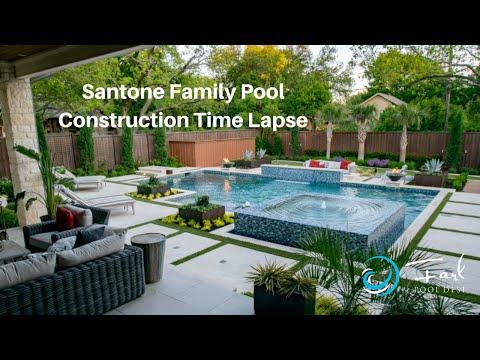 Santone Family Pool Construction Time Lapse