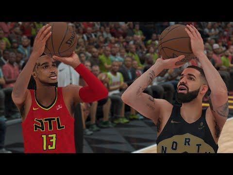 Quavo Plays Drake In A 1v1 Game Of Basketball! | NBA 2K18 Gameplay |