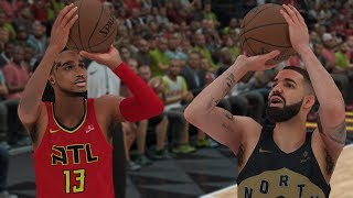 Quavo Plays Drake In A 1v1 Game Of Basketball  NBA 2K18 Gameplay