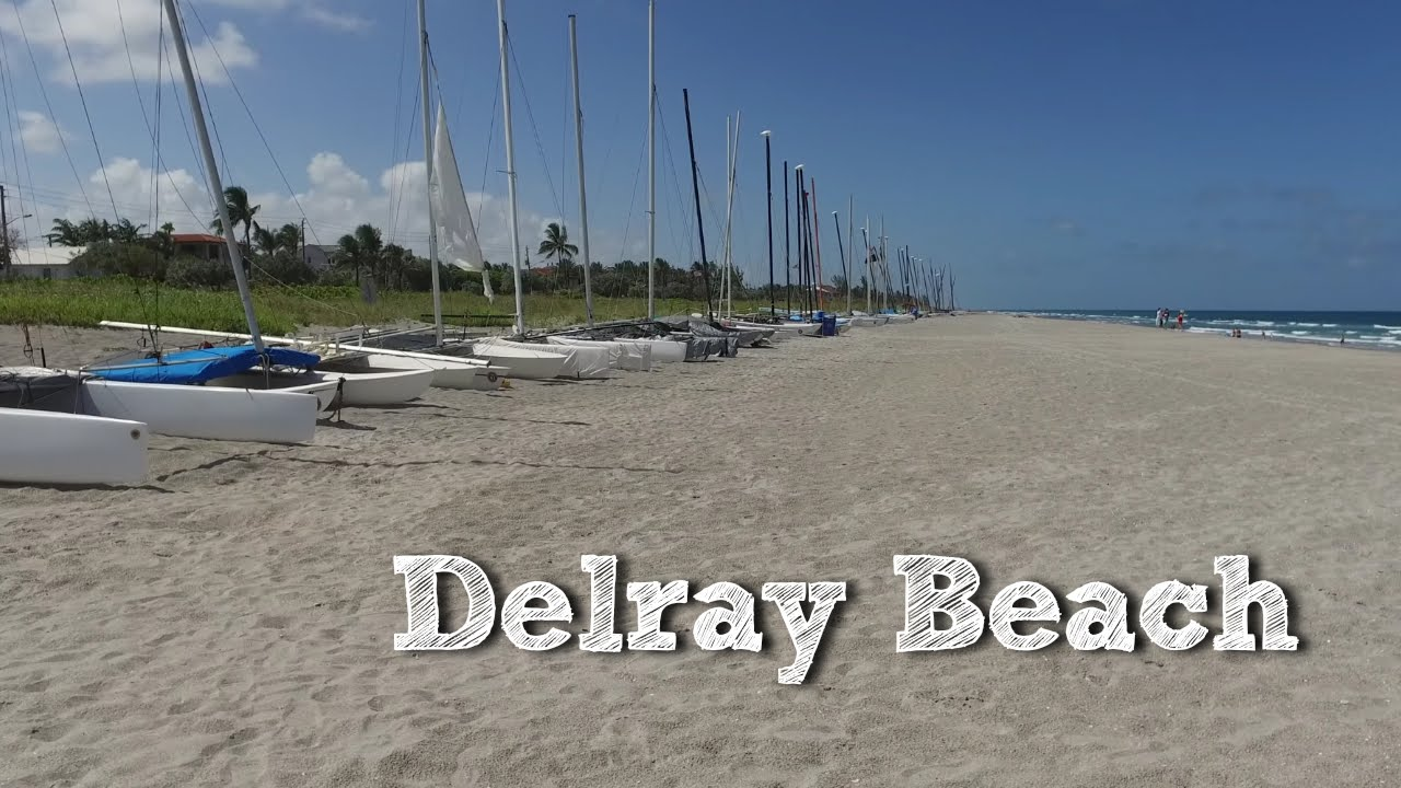 Delray Beach Oceanview Tour Sandbar Luna Rosa In 4k