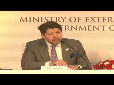 Joint Press Conference by Foreign Minister of Afghanistan & Finance Minister of India