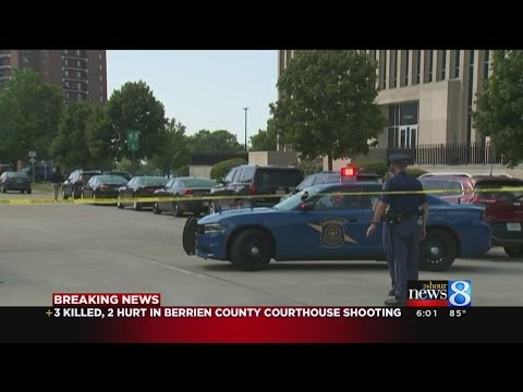 2 bailiffs among 3 fatally shot at Berrien County Courthouse