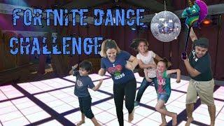 FORTNITE DANCE CHALLENGE!!! Ft JEAN-CLAUDE VAN DAMME?!?!?!?!