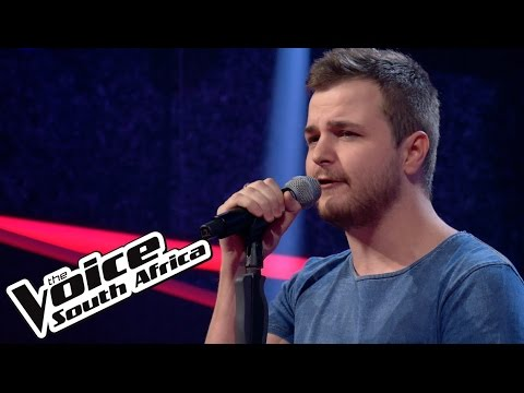Justin Swallows Performance   The Blind Auditis  The Voice South Africa 2016